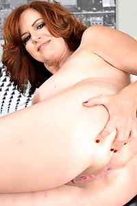 Big Breasted Redhead Andi James