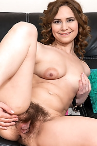 Adelis Shaman Plays With Her Hairy Pussy
